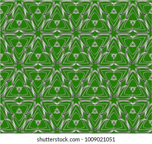 geometric ornament. Decorative mosaic texture. abstract background. Illustration of a mosaic image,