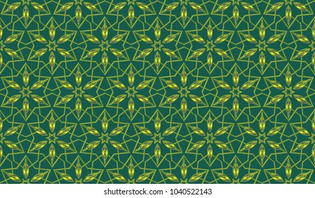 Geometric ornament for wedding invitation, envelope, greeting or business cards, Template for paper cut, printing, engraving wood, metal. Stencil manufacturing