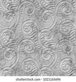 Geometric pattern on ceramic and marble tile seamless texture, 3d illustration