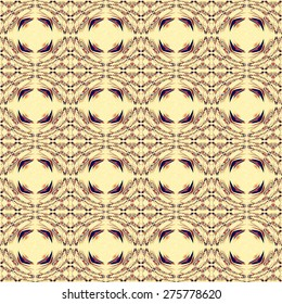 Geometric rhombus square retro ornament background pattern