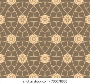Geometric shape abstract    illustration. Seamless pattern.