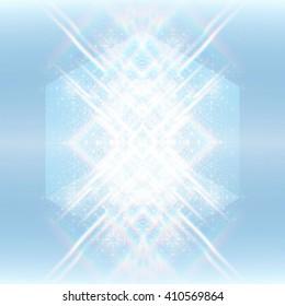 Geometric Shiny Pattern Background