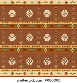 Geometric Southwestern inspired pattern.