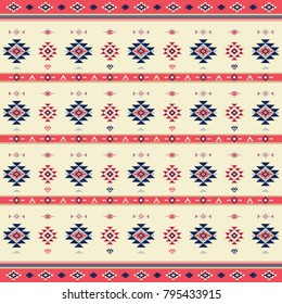 Geometric tribal inspired pattern