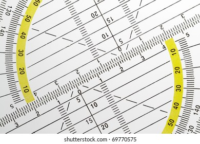Geometrical triangles are required for precise drawing in school and at work.