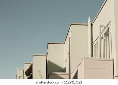 Geometrical view of a residential building (Fano, Italy)