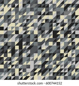 Geometry seamless background. Raster illustration in abstract style