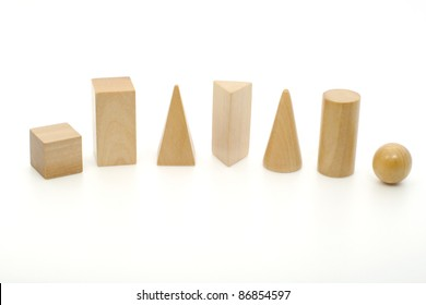 Geometry Solids - Cube, Rectangular Prism, Pyramid, Triangular Prism, Cone, Cylinder, Sphere
