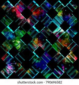 Geometry texture repeat modern pattern