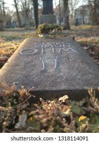 Georg Simon Ohm Gravestone in Munich (Alter Südfriedhof).