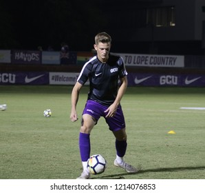 George Andrew defender for the Grand Canyon University Lopes at GCU Soccer Stadium in Phoenix,AZ / USA October 26,2018.