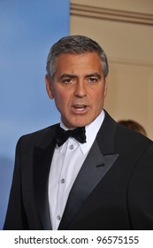 George Clooney at the 69th Golden Globe Awards at the Beverly Hilton Hotel. January 15, 2012  Beverly Hills, CA Picture: Paul Smith / Featureflash