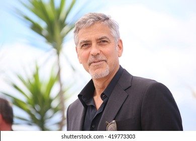 George Clooney attends the 'Money Monster' photocall during the 69th annual Cannes Film Festival at the Palais des Festivals on May 12, 2016 in Cannes, France.