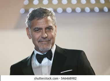 George Clooney attends the 'Money Monster' Premiere during the 69th annual Cannes Film Festival on May 12, 2016 in Cannes, France.