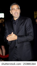 "George Clooney at the Los Angeles Premiere of ""Up In The Air"" held at the Mann Village Theater in Westwood, California, United States on November 30, 2009."