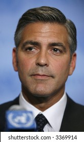 George Clooney at the United Nations in New York