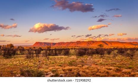George Gill Range in Watarrka National Park (Kings Canyon), Northern Territory, Australia