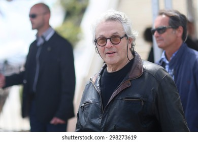 George Miller  attends the 'Mad Max : Fury Road' Photocall during the 68th annual Cannes Film Festival on May 14, 2015 in Cannes, France.
