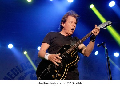 George Thorogood performs at the 10th Annual Scott Medlock-Robby Krieger All-Star Concert benefiting St. Jude Children's Research Hospital at Saddlerock Ranch in Malibu, CA on Aug. 27, 2017.
