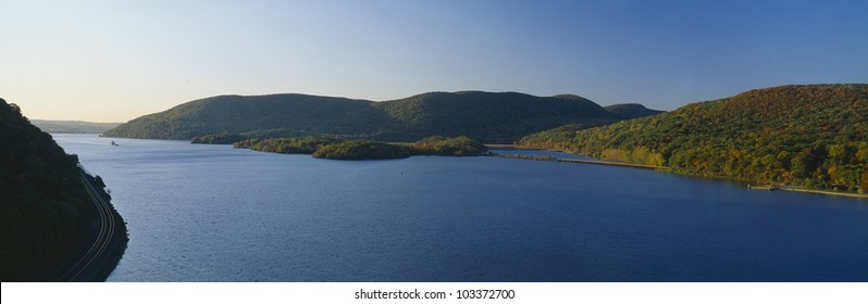 George W. Perkins Memorial Drive in Bear Mountain State Park, Hudson River Valley, New York