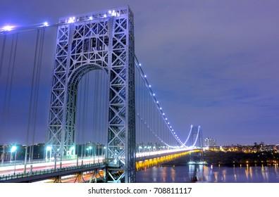 George Washington Bridge from Fort Lee