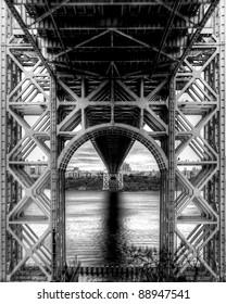 George Washington Bridge unique perspective