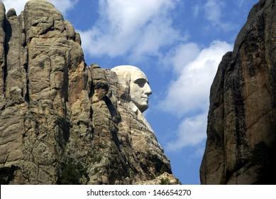 George Washington Profile - Mt. Rushmore