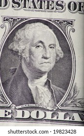 George Washington shows his contempt for bad investment habits.