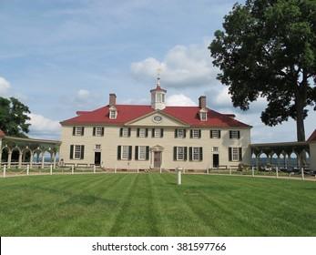 George Washington's estate in Mount Vernon, Virginia
