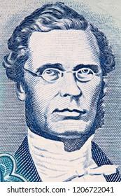 George William Gordon portrait from Jamaican money