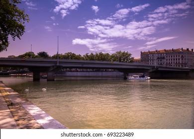 Georges Clémenceau Bridge/Lyon/ France