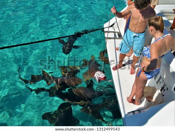 Georgetown Great Exuma Bahamas On April Stock Photo (Edit