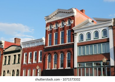 Georgetown neighborhood in Washington D.C. It is listed on National Register of Historic Places.