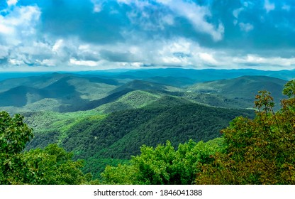 Georgia Blue Ridge Mountains Horizon  - Shutterstock ID 1846041388