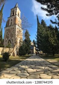 Georgia bodbe st Nino monastery