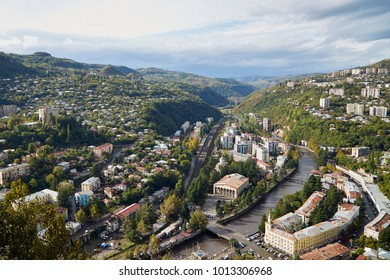 Georgia, cable car city Chiatura