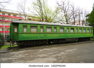 Georgia, City of Gori, Stalin's personal railway carriage.