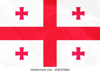 Georgia Fabric flag background