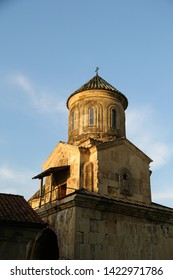 in georgia gelati monastery the antique heritage of caucasian historical land  protect by unnesco