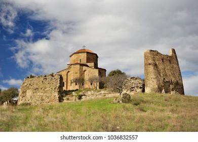 Georgia, Mtskheta. The Monastery Temple Dzhvari