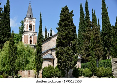 GEORGIA SIGHNAGHI 31/05/2017 Bodbe Monastery, dedicated to Saint Nino.Santa Nino spread Christianity in Georgia.She spent the last years of her life in Bodbe, where she was buried