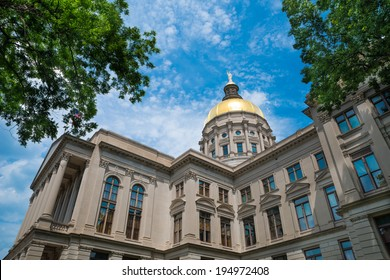 Georgia state capitol building in Atlanta