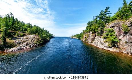 Georgian Bay channel