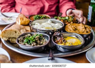 Georgian dinner in Tbilisi