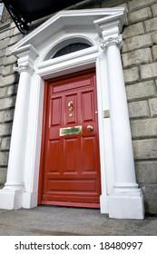 Georgian Door, Dublin Ireland.