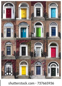 GEORGIAN DOORS - DUBLIN, IRELAND