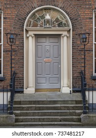 GEORGIAN FORMAL GREY DOOR - DUBLIN IRELAND & Georgian Door Images Stock Photos \u0026 Vectors | Shutterstock