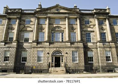Georgian House, Charlotte Square, Edinburgh, Scotland