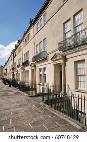 Georgian Terraced Houses in Bath England