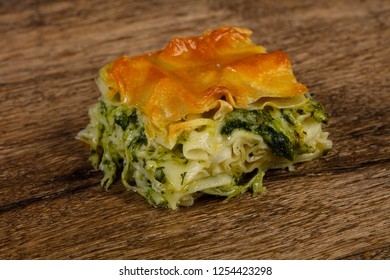 Georgian traditional Achma pie with cheese - Shutterstock ID 1254423298